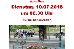 Rollstuhlausflug 2018