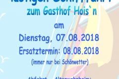 Schifffahrt Hoisn 2018
