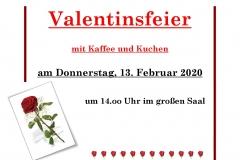 Valentinsfeier 2020